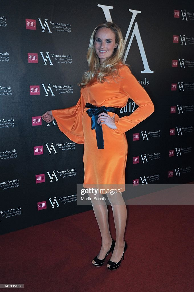 Model Patrizia Kaiser attends the Vienna Awards For Fashion & Lifestyle at Museumsquartier on March 26, 2012 in Vienna, Austria.