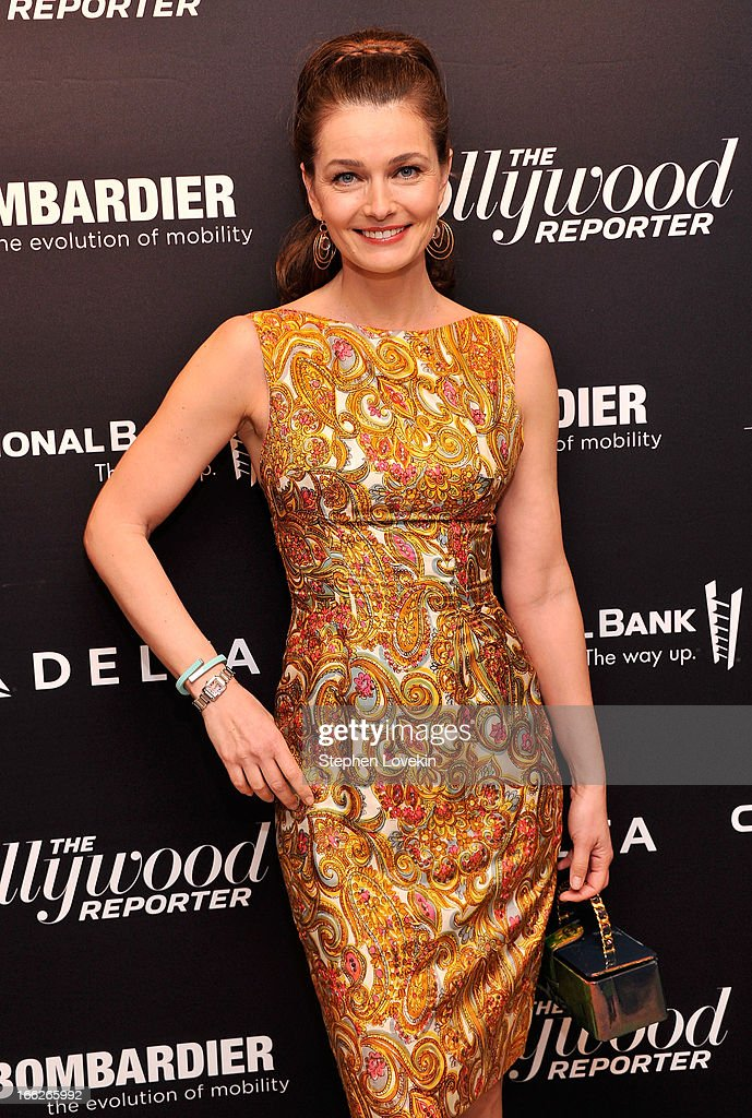 Model Paulina Poriskova attends The Hollywood Reporters 35 Most Powerful People In Media at Four Seasons Grill Room on April 10, 2013 in New York City.