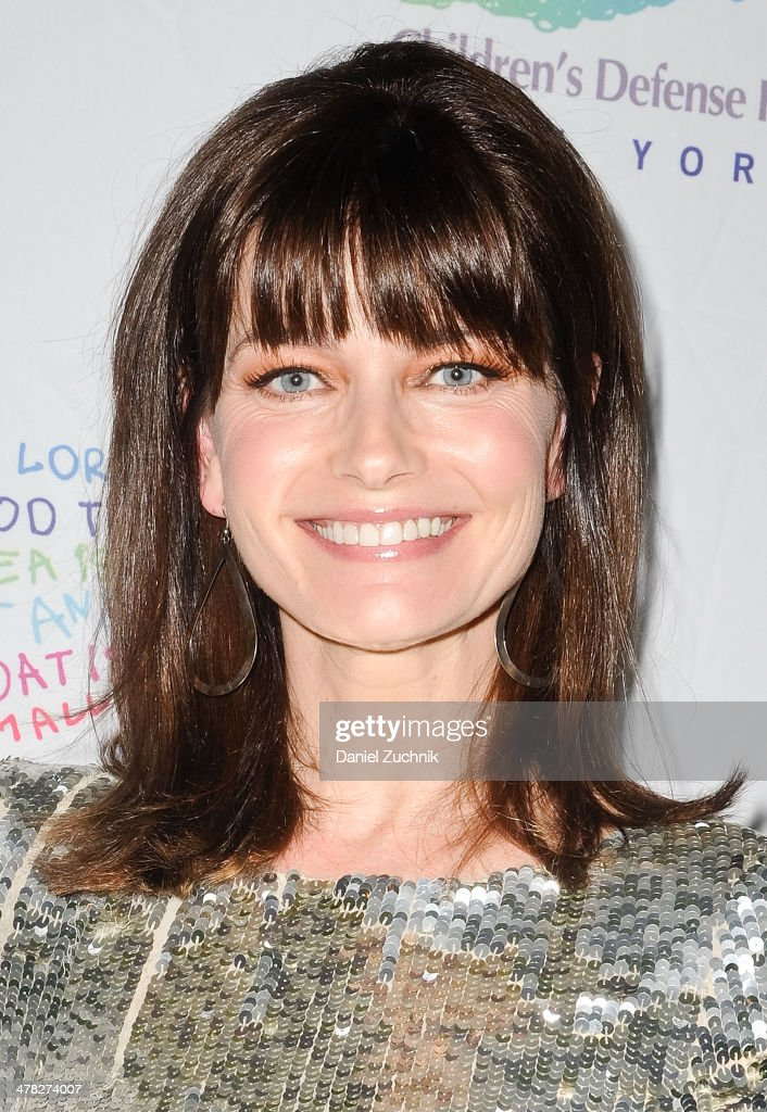 Model <a gi-track='captionPersonalityLinkClicked' href=/galleries/search?phrase=Paulina+Porizkova&family=editorial&specificpeople=569871 ng-click='$event.stopPropagation()'>Paulina Porizkova</a> attends the 40th Anniversary Children's Defense Fund 'Beat The Odds' Gala at The Pierre Hotel on March 12, 2014 in New York City.