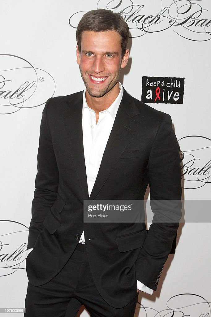 Model Pedro Andrade attends the Keep A Child Alive's Black Ball Redux 2012 at The Apollo Theater on December 6, 2012 in New York City.