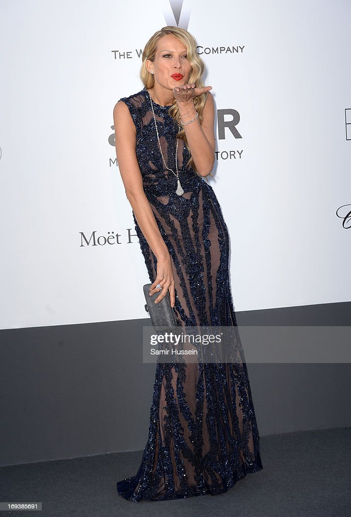 Model <a gi-track='captionPersonalityLinkClicked' href=/galleries/search?phrase=Petra+Nemcova&family=editorial&specificpeople=201716 ng-click='$event.stopPropagation()'>Petra Nemcova</a> attends amfAR's 20th Annual Cinema Against AIDS during The 66th Annual Cannes Film Festival at Hotel du Cap-Eden-Roc on May 23, 2013 in Cap d'Antibes, France.