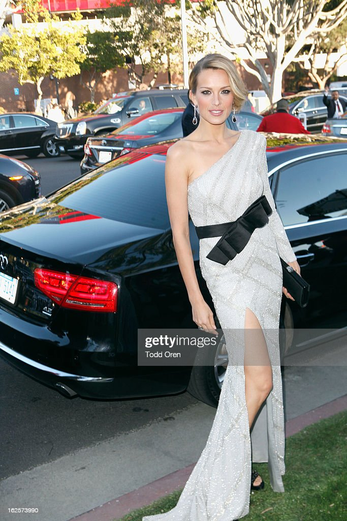 Model Petra Nemcova attends Audi at 21st Annual Elton John AIDS Foundation Academy Awards Viewing Party at West Hollywood Park on February 24, 2013 in West Hollywood, California.