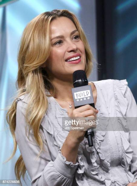 Model Petra Nemcova attends Build to discuss Hands and Hearts Smart Response at Build Studio on November 14 2017 in New York City
