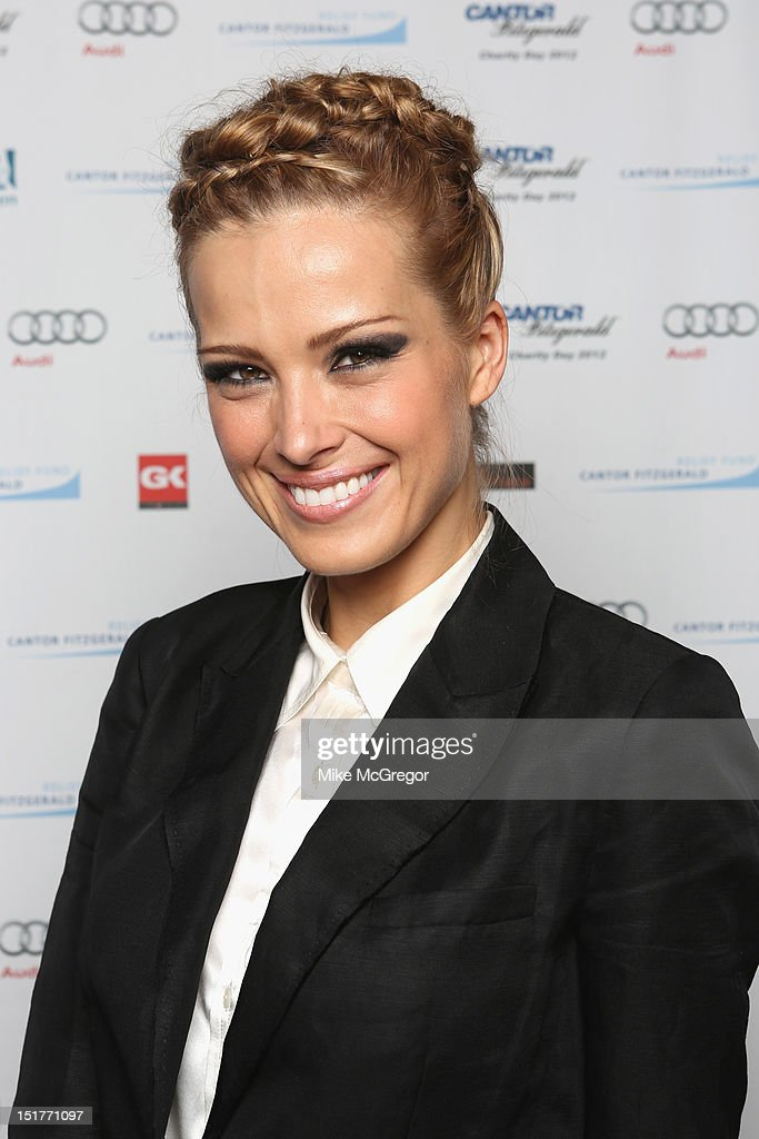 Model Petra Nemcova attends Cantor Fitzgerald & BGC Partners host annual charity day on 9/11 to benefit over 100 charities worldwide at Cantor Fitzgerald on September 11, 2012 in New York City.