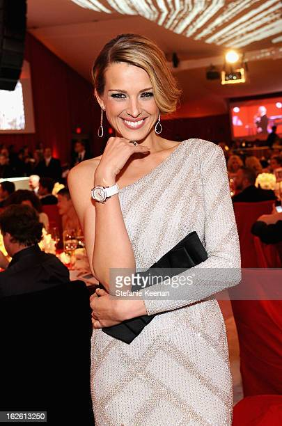Model Petra Nemcova attends Chopard at 21st Annual Elton John AIDS Foundation Academy Awards Viewing Party at West Hollywood Park on February 24 2013...