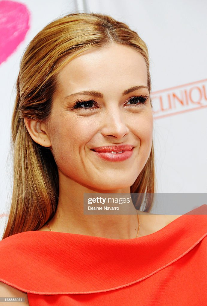 Model <a gi-track='captionPersonalityLinkClicked' href=/galleries/search?phrase=Petra+Nemcova&family=editorial&specificpeople=201716 ng-click='$event.stopPropagation()'>Petra Nemcova</a> attends Happy Hearts Fund In Partnership With Clinique Launch Event at Bloomingdale's 59th Street Store on December 14, 2012 in New York City.