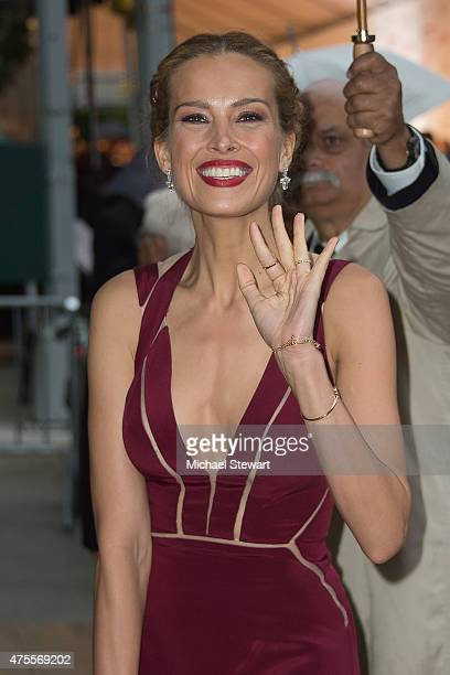 Model Petra Nemcova attends the 2015 CFDA Fashion Awards Sightings at Alice Tully Hall at Lincoln Center on June 1 2015 in New York City