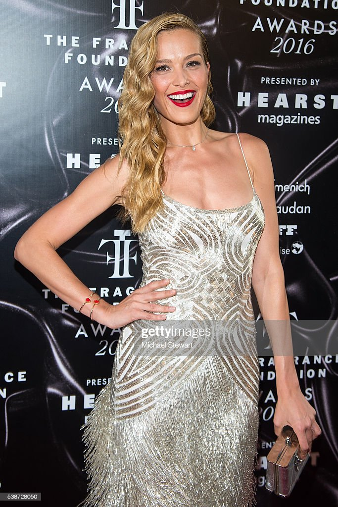 Model Petra Nemcova attends the 2016 Fragrance Foundation Awards at Alice Tully Hall at Lincoln Center on June 7 2016 in New York City