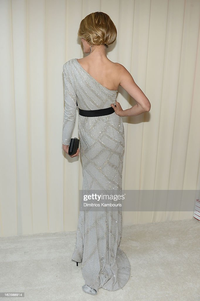 Model Petra Nemcova attends the 21st Annual Elton John AIDS Foundation Academy Awards Viewing Party at West Hollywood Park on February 24, 2013 in West Hollywood, California.