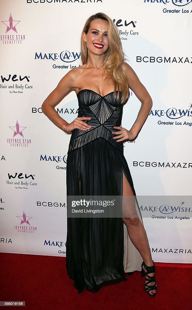 Model Petra Nemcova attends the MakeAWish Greater Los Angeles Fashion Fundraiser at Taglyan Cultural Complex on August 24 2016 in Hollywood California