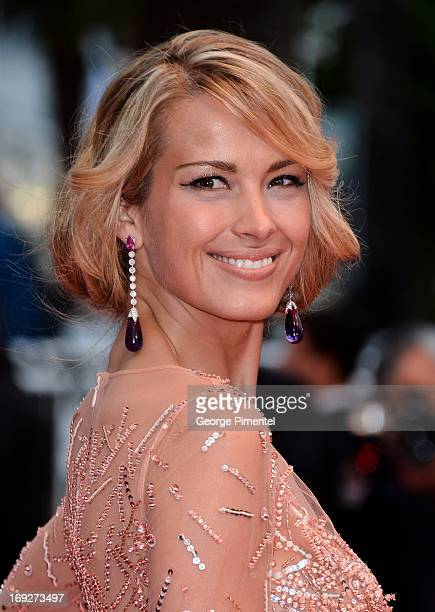 Model Petra Nemcova attends the Premiere of 'All Is Lost' at The 66th Annual Cannes Film Festival on May 22 2013 in Cannes France