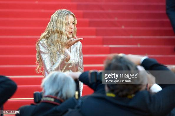 Model Petra Nemcova attends the Premiere of 'Behind The Candelabra' during the 66th Annual Cannes Film Festival at the Palais des Festivals on May 21...