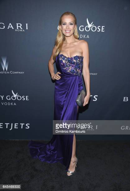 Model Petra Nemcova attends The Weinstein Company's PreOscar Dinner in partnership with Bvlgari and Grey Goose at Montage Beverly Hills on February...