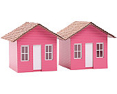 Model Pink Houses