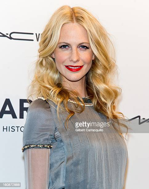 Model Poppy Delevingne attends amfAR New York Gala To Kick Off Fall 2013 Fashion Week at Cipriani Wall Street on February 6 2013 in New York City