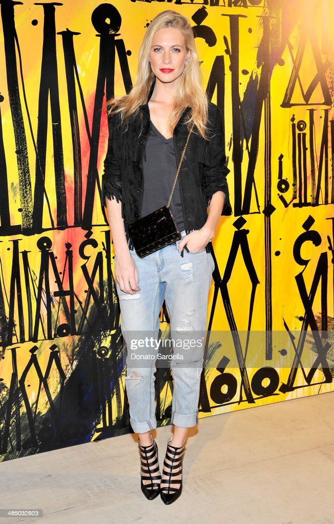 Model <a gi-track='captionPersonalityLinkClicked' href=/galleries/search?phrase=Poppy+Delevingne&family=editorial&specificpeople=2348985 ng-click='$event.stopPropagation()'>Poppy Delevingne</a> attends Launch Of CHOO.08 hosted by Jimmy Choo's Sandra Choi on April 15, 2014 in Beverly Hills, California.