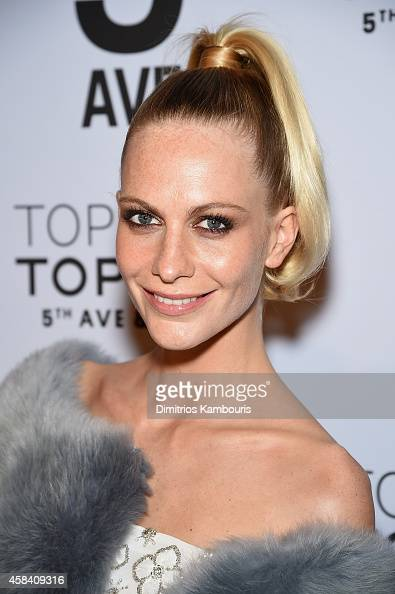 Model Poppy Delevingne attends the Topshop Topman New York City flagship opening dinner at Grand Central Terminal on November 4 2014 in New York City