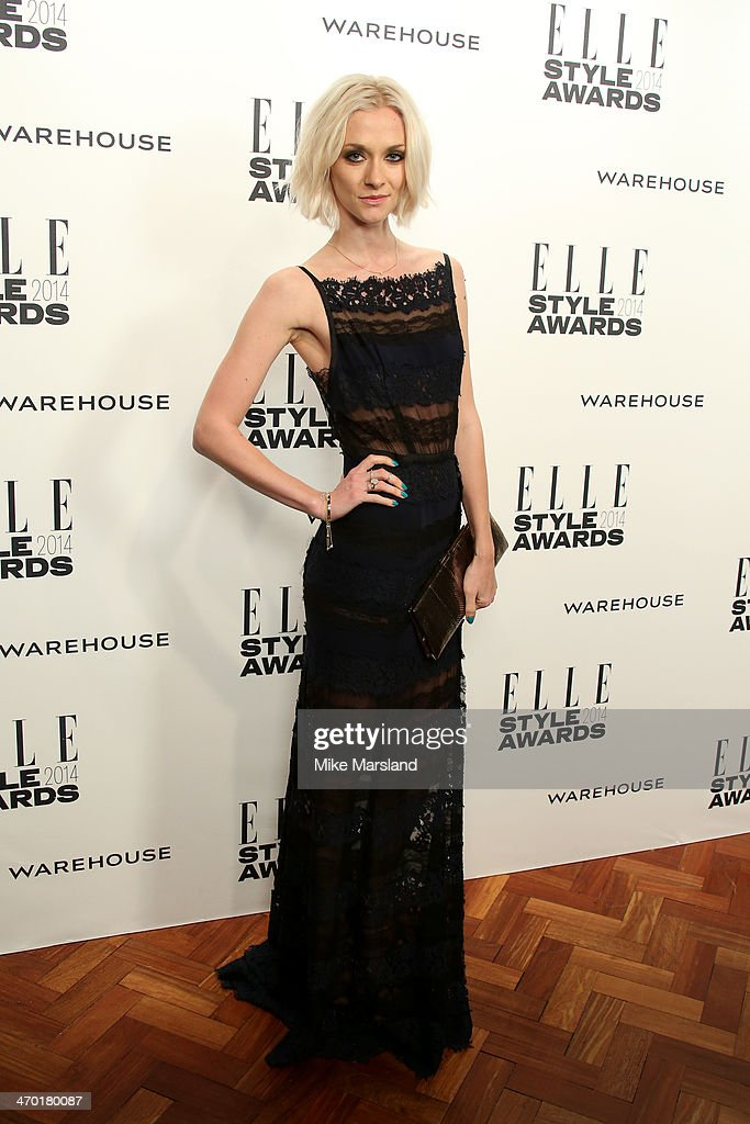 Model Portia Freeman attends the Elle Style Awards 2014 at one Embankment on February 18, 2014 in London, England.