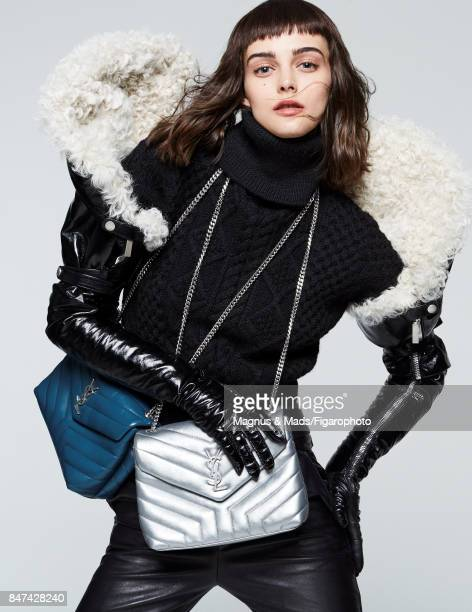 Model poses at a fashion shoot for Madame Figaro on July 8 2017 in Paris France All PUBLISHED IMAGE CREDIT MUST READ Magnus Mads/Figarophoto/Contour...
