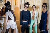 Koche : Backstage - Paris Fashion Week - Womenswear...