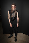 Rick Owens : Backstage  - Paris Fashion Week - Menswear...
