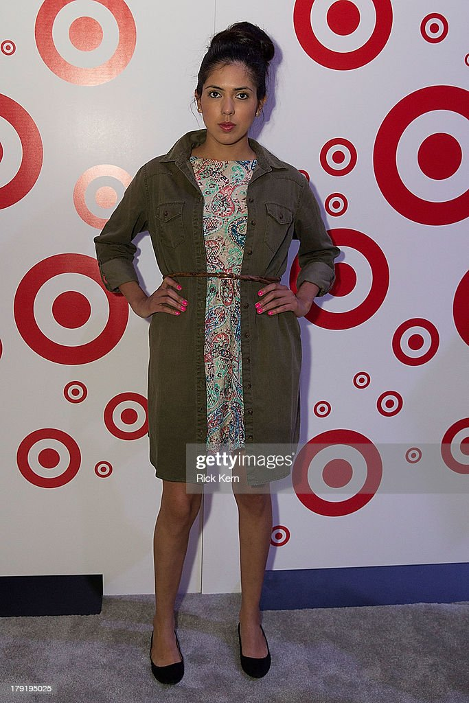 A model poses during the Festival People en Español Presented by Target at the Henry B. Gonzalez Convention Center on August 31, 2013 in San Antonio, Texas.