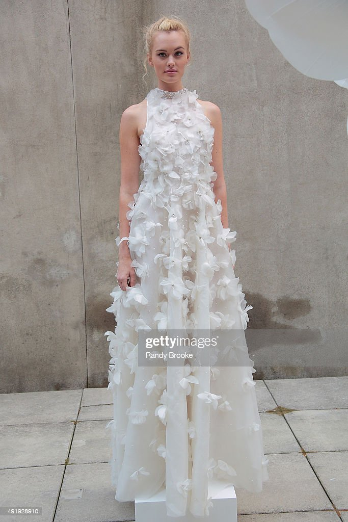 Lela Rose Wedding Dresses Nyc : Lela rose bridal fall winter presentation getty images