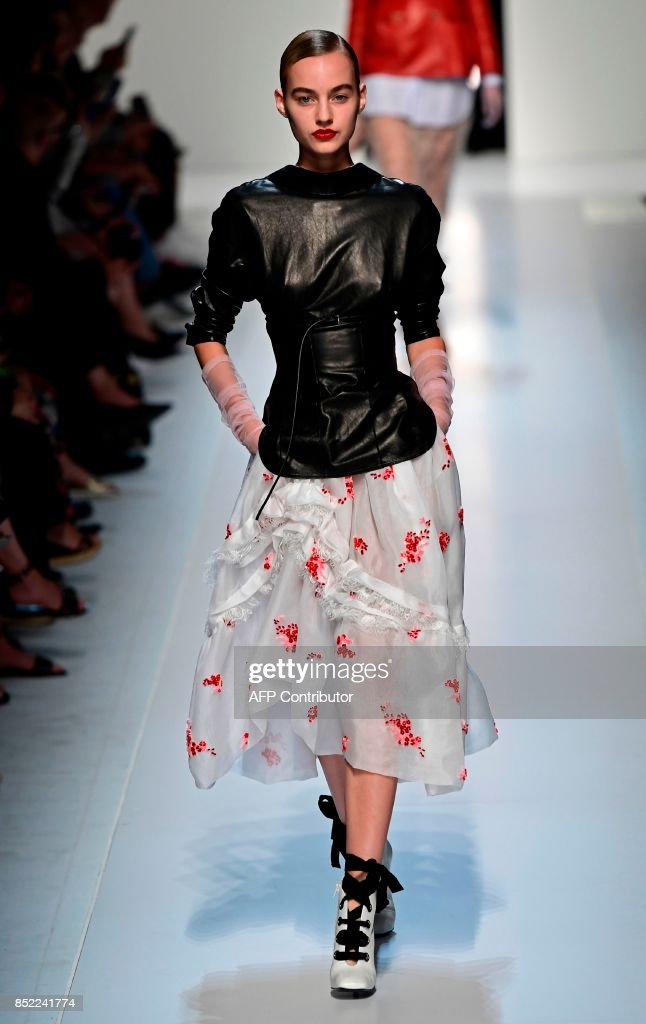 model-presents-a-creation-for-fashion-house-ermanno-scervino-during-picture-id852241774