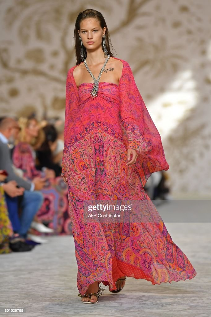 model-presents-a-creation-for-fashion-house-etro-during-the-womens-picture-id851509798