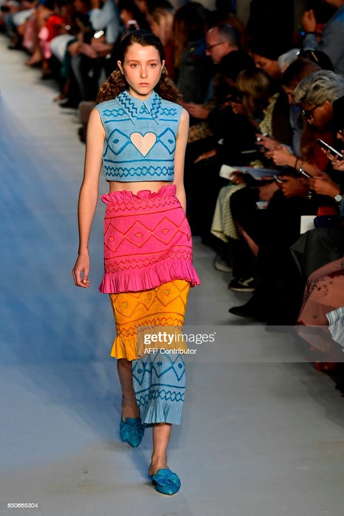 model-presents-a-creation-for-fashion-house-vivetta-during-the-womens-picture-id850665304