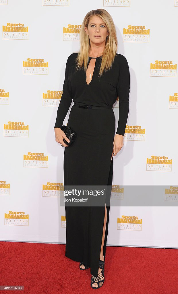 Model <a gi-track='captionPersonalityLinkClicked' href=/galleries/search?phrase=Rachel+Hunter&family=editorial&specificpeople=203027 ng-click='$event.stopPropagation()'>Rachel Hunter</a> arrives at NBC And Time Inc. Celebrate 50th Anniversary Of Sports Illustrated Swimsuit Issue at Dolby Theatre on January 14, 2014 in Hollywood, California.