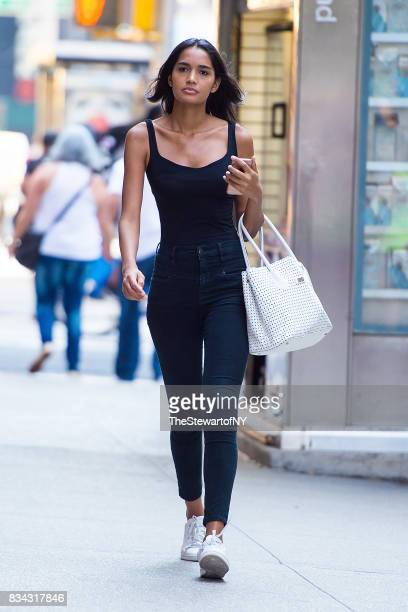 Model Raquel Lima attends casting for the 2017 Victoria's Secret Fashion Show in Midtown on August 17 2017 in New York City