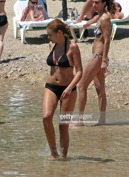 Model Raquel Rodriguez is seen on June 23 2010 in Ibiza Spain