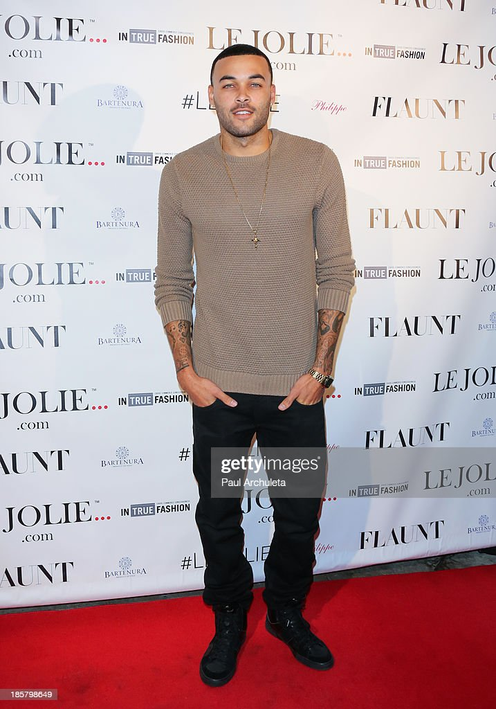 Model / Reality TV Personality Don Benjamin attends the LeJolie.com launch party at No Vacancy Night Club on October 24, 2013 in Los Angeles, California.