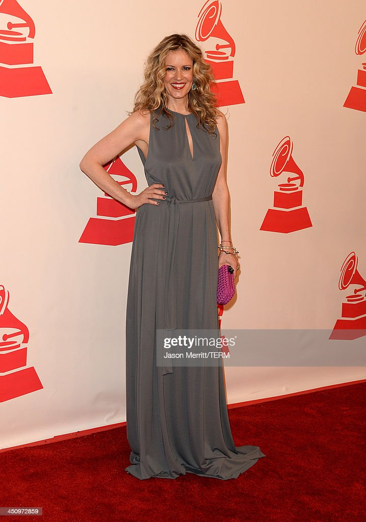 Model Rebecca de Alba arrives at the 2013 Latin Recording Academy Person Of The Year honoring Miguel Bose at the Mandalay Bay Convention Center on November 20, 2013 in Las Vegas, Nevada.