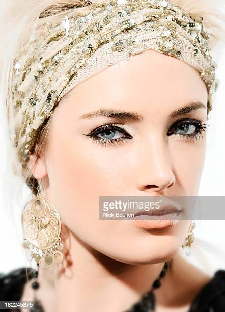 Model Reeva Steenkamp poses for a beauty shoot on May 10 2004 in Johannesburg South Africa