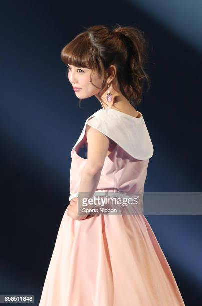 Model Risa Nakamura participates the 20th Tokyo Girls Collection 2015 Spring / Summer on February 28 2015 in Tokyo Japan