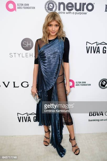 Model Rola attends the 25th Annual Elton John AIDS Foundation's Academy Awards Viewing Party at The City of West Hollywood Park on February 26 2017...