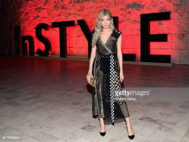 Model Rola attends the Second Annual 'InStyle Awards' presented by InStyle at Getty Center on October 24 2016 in Los Angeles California