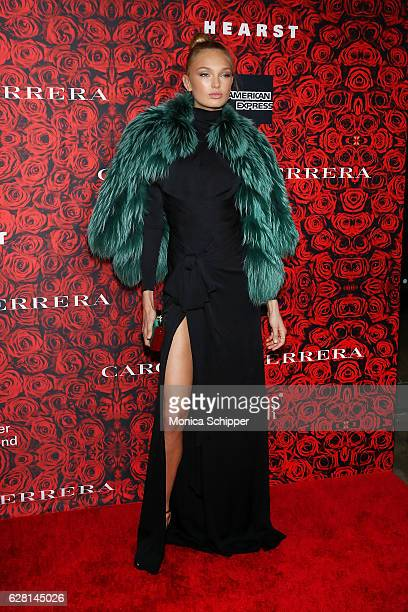 Model Romee Strijd attends An Evening Honoring Carolina Herrera at Alice Tully Hall at Lincoln Center on December 6 2016 in New York City