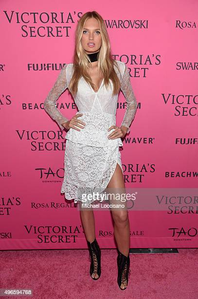 Model Romee Strijd attends the 2015 Victoria's Secret Fashion After Party at TAO Downtown on November 10 2015 in New York City