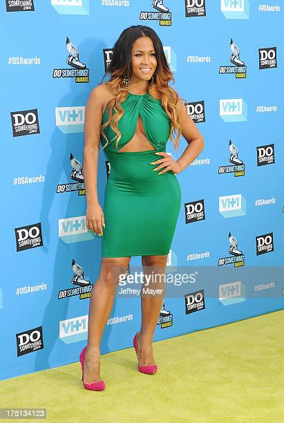 Model Rosa Acosta arrives at the DoSomethingorg and VH1's 2013 Do Something Awards at Avalon on July 31 2013 in Hollywood California