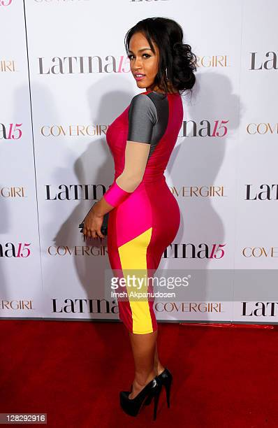 Model Rosa Acosta attends Latina Magazine's 15th Anniversary Celebration at The Globe Theatre on October 5 2011 in Universal City California