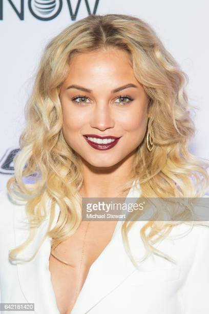 Model Rose Bertram attends the Sports Illustrated Swimsuit 2017 launch event at Center415 Event Space on February 16 2017 in New York City