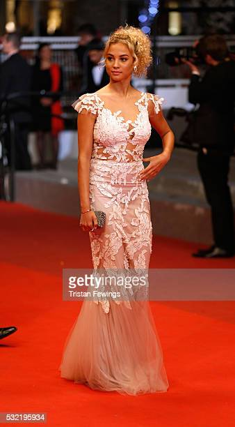 Model Rose Bertram attends 'The Strangers ' Premiere during the 69th annual Cannes Film Festival at the Palais des Festivals on May 18 2016 in Cannes...