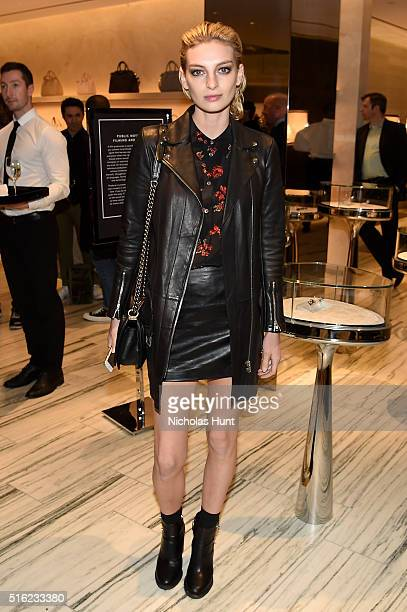 Model Rose Smith attends as Barneys New York celebrates its new downtown flagship in New York City on March 17 2016 in New York City
