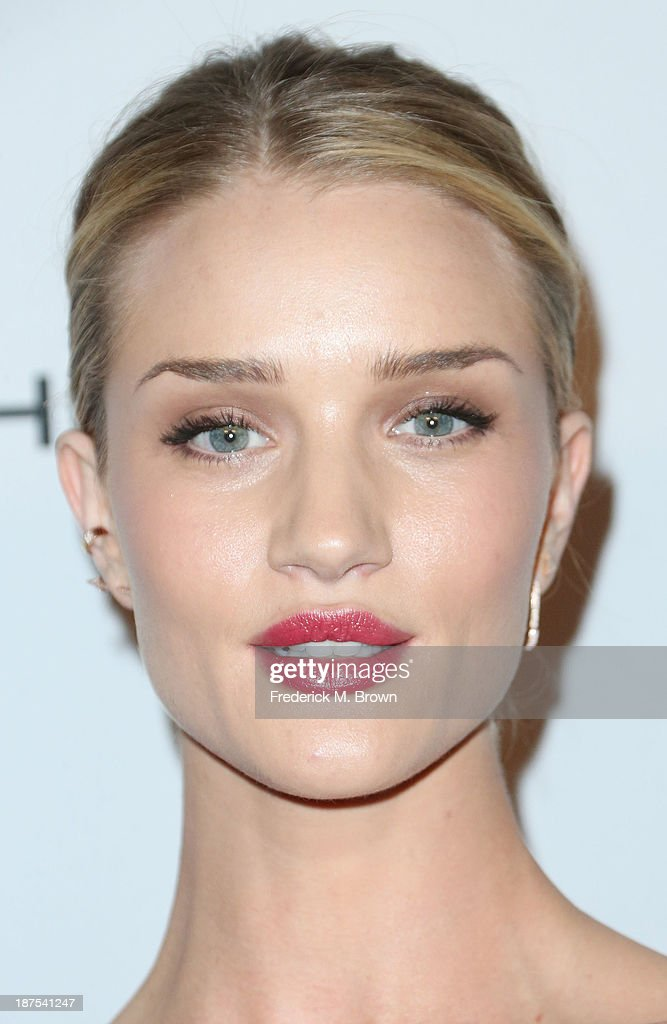 Model Rosie Huntington-Whiteley attends the Second Annual Baby2Baby Gala at the Book Bindery on November 9, 2013 in Culver City, California.