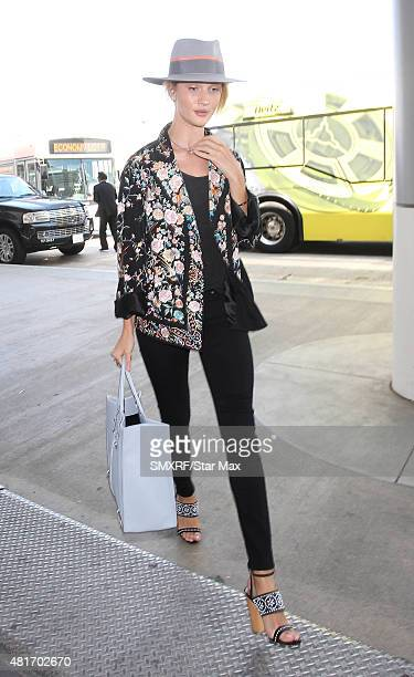 Model Rosie HuntingtonWhiteley is seen on July 23 2015 in Los Angeles California
