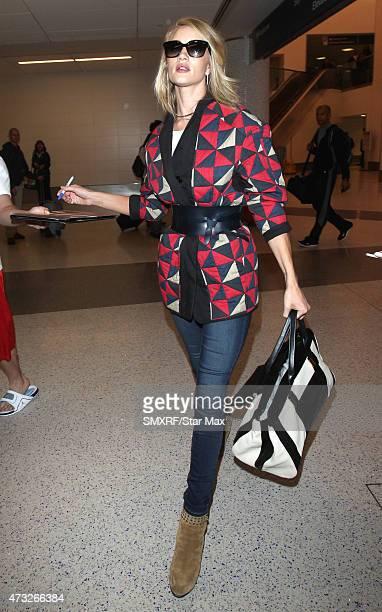 Model Rosie HuntingtonWhiteley is seen on May 14 2015 in Los Angeles California