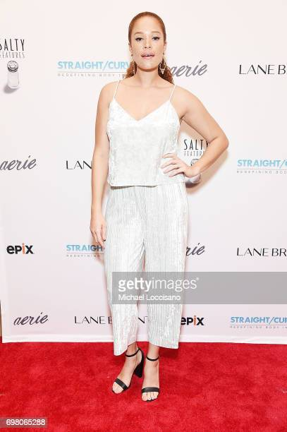 Model Sabina Karlsson attends the 'Straight/Curve' New York premiere at the Whitby Hotel on June 19 2017 in New York City